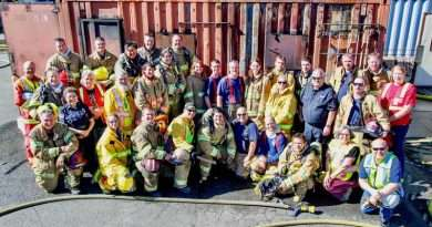 Live fire training highlights Quincy Fire Academy