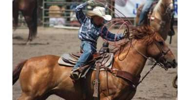 Junior Rodeo in Taylorsville is hot