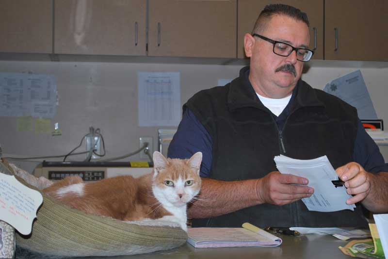 Animal control officer believes hes found the best job Plumas News