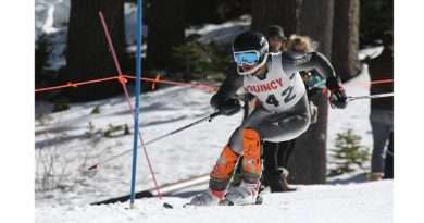 Quincy skiers make their mark