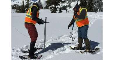 PG&E hydrographers go to great heights to get the lowdown on snow