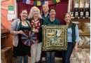 Quilt walk begins with displays in local businesses