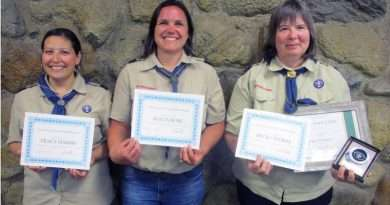 Lassen District BSA recognizes Scout leaders