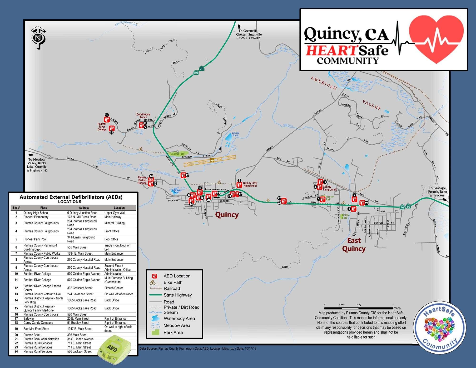 Safeway is latest location to house lifesaving device - Plumas News