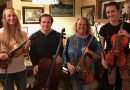 Celebrate the season at Quincy's Words & Music with Soulstice Strings