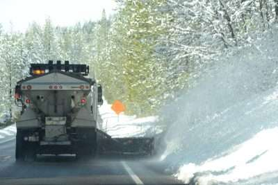 Snowy day could mean anything for the CHP - Plumas News