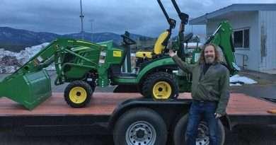 Garden gets tractor