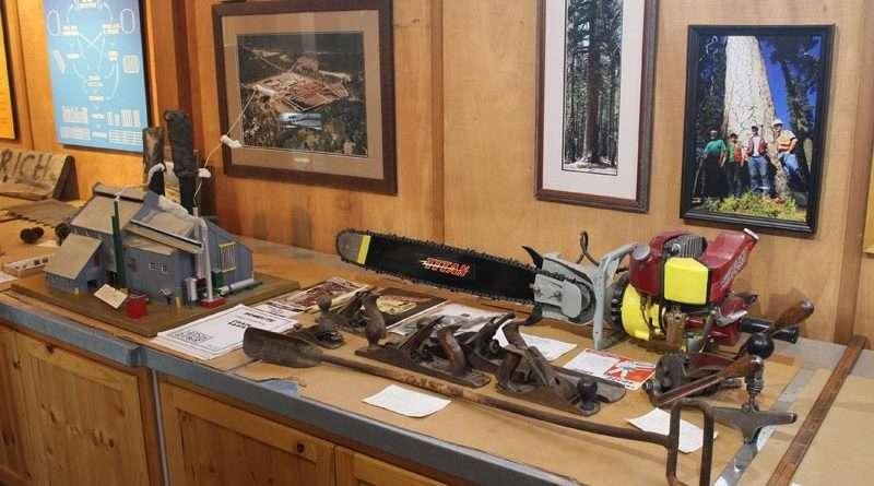 Collins Pine Museum open thru mid October