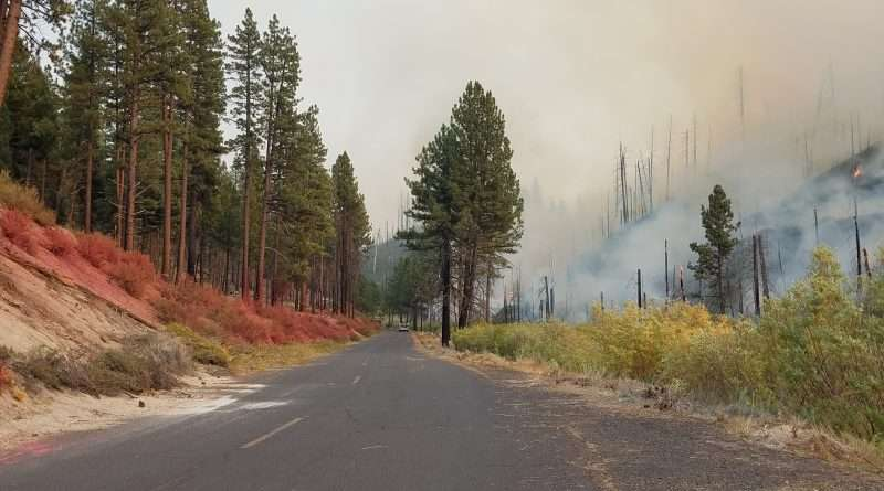 Walker Fire Day 14-96 percent contained!
