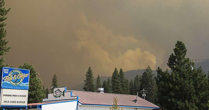 Christmas Tree Permits 2020 Ca At Quincy UPDATE Aug. 20: Some East Quincy residents evacuated   Plumas News