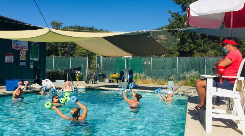 Water aerobics still a splash in Taylorsville