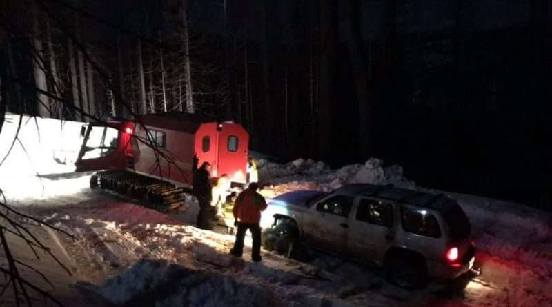 Search and Rescue pulls family to safety