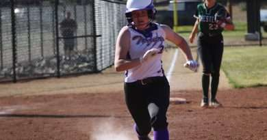 Portola softball team breaks in new field with 19-9 victory