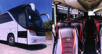 FRC purchases two new tour buses for student travel