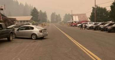 All that smoke – terrible to breathe, but it helped quell the Dixie Fire for a day