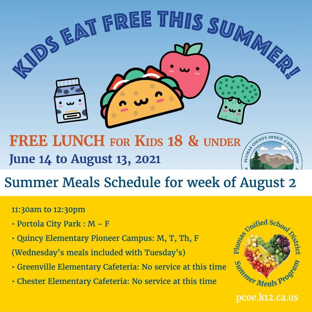 Summer Meals 2021 fire update for aug 2