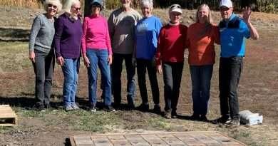 New bricks arrive at White Sulphur Springs
